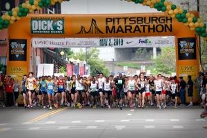 """Pittsburgh Marathon"""